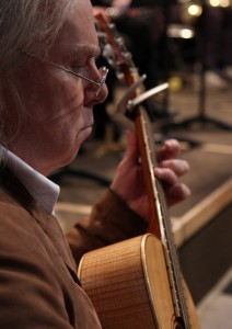 Tim Pells on guitar