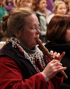 Jean Swift on recorder